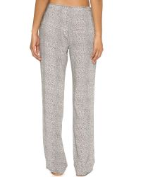 Calvin Klein - Gray Pebble Print Pajama Pants - Multi Pebble Print - Lyst