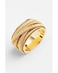 Marco Bicego | Metallic 'cairo' Cigar Band Ring | Lyst