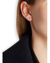 Maria Black | Pink Senae Twirl Diamond Rose Gold-plated Earrings | Lyst