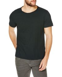 Replay | Black Jersey Round Neck T-shirt for Men | Lyst