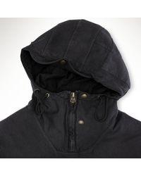 Polo Ralph Lauren - Black Fleece Artillery Hoodie for Men - Lyst
