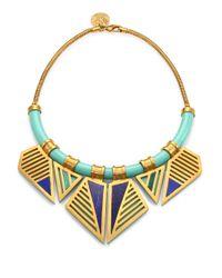 A Peace Treaty - Green Ohoyo Collar Necklace - Lyst
