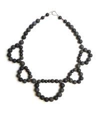 Hring Eftir Hring - Black Double Ballerina Necklace Coal - Lyst