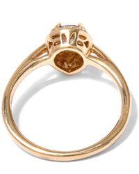 Anna Sheffield | Metallic Gold New Rosette Pear-cut Diamond Ring | Lyst