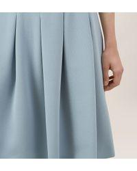 Hobbs   Blue Brunswick Dress   Lyst