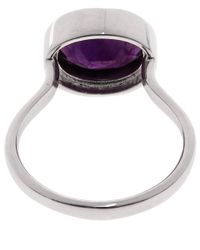 Monica Vinader | Purple Silver Amethyst Candy Ring | Lyst