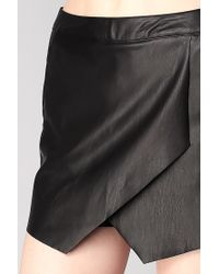 Vero Moda - Black Short - Lyst