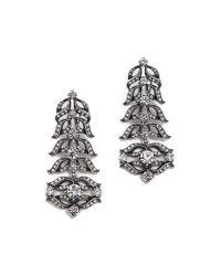 Lulu Frost - Metallic Rococo Statement Earrings - Lyst