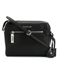 MICHAEL Michael Kors - Black 'zoey' Cross Body Bag - Lyst