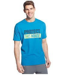 Under Armour | Blue Men's Pth Heatgear® T-shirt for Men | Lyst