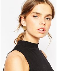 ASOS | Metallic Mismatch Spike Swing And Stud Earrings | Lyst