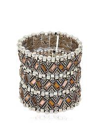 Philippe Audibert | Metallic Loa Manchette Cuff Bracelet | Lyst