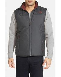 The North Face | Black 'Trinity' Reversible Vest for Men | Lyst