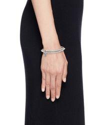 Philippe Audibert | Metallic 'abigail' Spike Elastic Bracelet | Lyst
