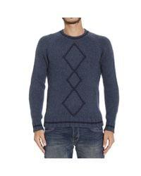Etro   Blue Men's Sweater for Men   Lyst
