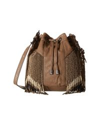 Jessica Simpson | Brown Kinsley Drawstring Crossbody | Lyst