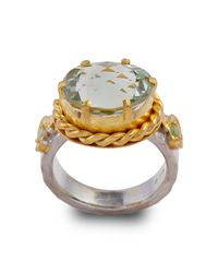 Emma Chapman Jewels | Metallic Luce Green Amethyst Ring | Lyst