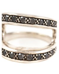 Hoorsenbuhs | Metallic Masque Diamond Ring | Lyst