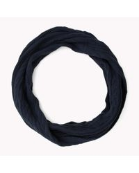 Tommy Hilfiger - Blue Wool Blend Scarf for Men - Lyst