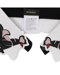 Pinko - White Neck - Lyst