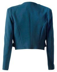 Closet - Green Faux Pocket Jacket - Lyst