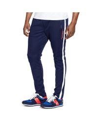 Ralph Lauren | Blue Cotton-blend-piqué Track Pant for Men | Lyst