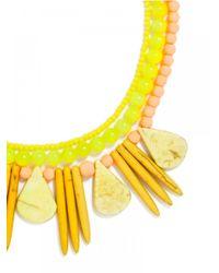 BaubleBar - Yellow Citron Bib - Lyst
