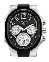 Philip Stein - Ionicplated Stainless Steel Chronograph Watch Head Black for Men - Lyst