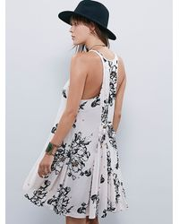 Free People | Black Fp X Womens Fp X Printed Swing Dress | Lyst