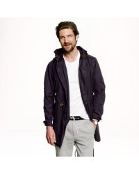 J.Crew - Blue Cotton Fishtail Parka for Men - Lyst