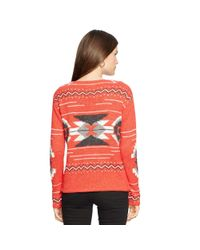 Ralph Lauren - Multicolor Geometric Bateau Sweater - Lyst