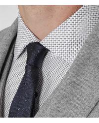 Reiss - White Highgarden Patterned Slim-fit Shirt for Men - Lyst