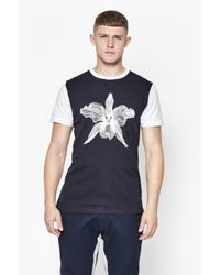 French Connection | Blue Block Sport Lily T-shirt for Men | Lyst