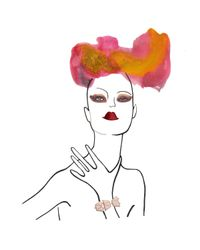Eddie Borgo | Pink Rose Gold Plate Bracelet | Lyst