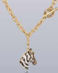 Jay Strongwater | Multicolor Bruce Zebra Charm | Lyst