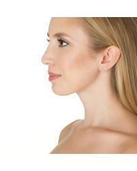 Alexa Leigh | Metallic Bar Earring | Lyst
