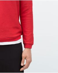 Zara | Structured Sweater for Men | Lyst