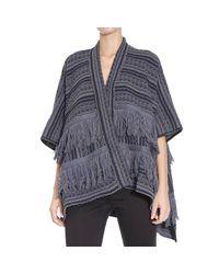 Manila Grace - Blue Sweater - Lyst