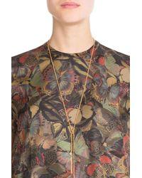Carolina Bucci | Metallic 18k Gold Necklace With Silk | Lyst