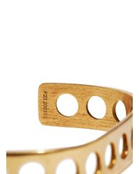 Jem | Metallic Jem Women's Voids Xs Bracelet From Aw15 In Yellow Gold | Lyst