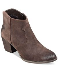 Marc Fisher | Brown Stefani Booties | Lyst