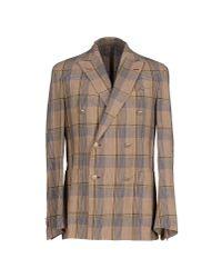 Boglioli | Brown Blazer for Men | Lyst