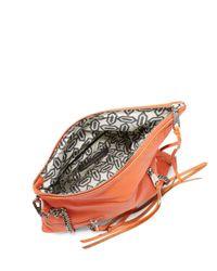 Rebecca Minkoff - Orange Harper Studded Crossbody Bag - Lyst