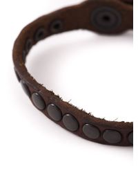 DIESEL - Brown 'agelo' Bracelet for Men - Lyst
