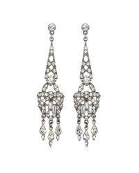 Ben-Amun | Metallic Linear Deco Earrings | Lyst