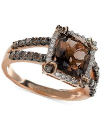 Le Vian | Pink Smoky Quartz (2-5/8 Ct. T.w.) And Diamond (5/8 Ct. T.w.) Ring In 14k Rose Gold | Lyst