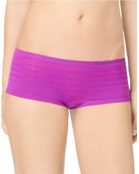 Calvin Klein | Purple Seamless Ombre Hipster Panties | Lyst