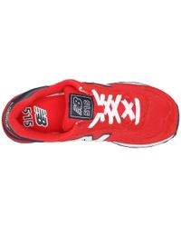 New Balance - Red 515 - Polo - Lyst
