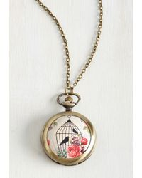 Ana Accessories Inc | Metallic Let Me Trinket Through Necklace | Lyst