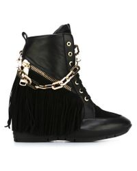 DSquared² | Black 'manitou' Ankle Boots | Lyst